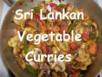 Sri Lankan Vegetable Dishes