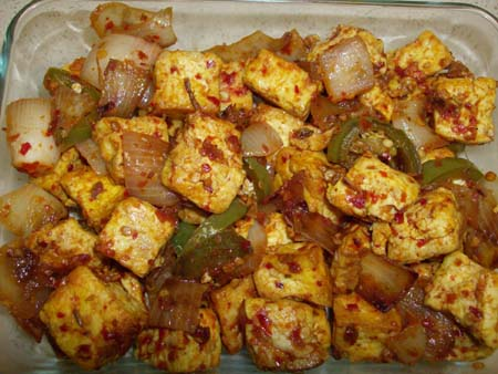Sri Lankan Devilled Tofu recipe