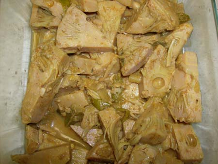 Sri Lankan Polos (Jack fruit) curry