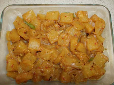 Sri lankan pineapple curry recipe(annasi curry)
