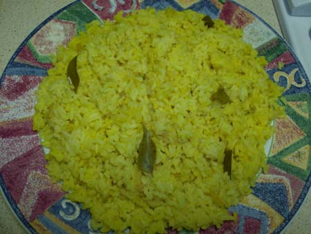 Sri Lankan yellow rice recipe